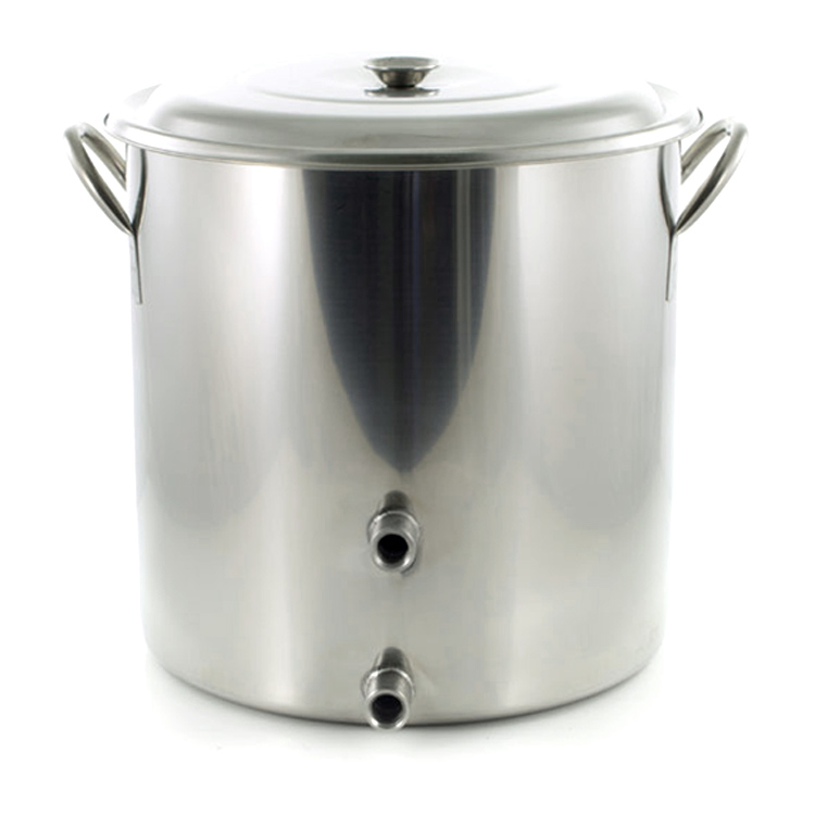 Adventures In Homebrewing 8 Gallon Stainless Steel Kettle for Just $49 Sale