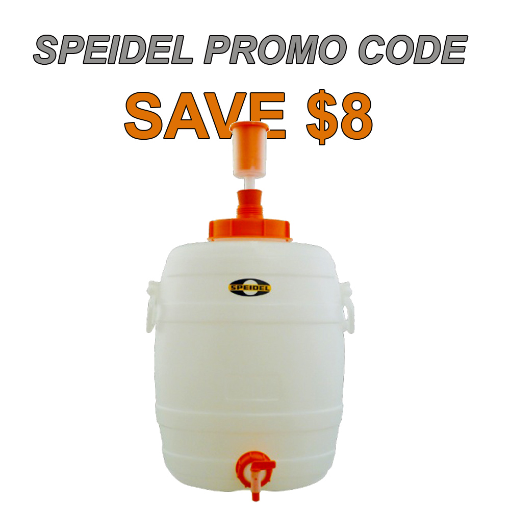Home Brewer Promo Code for 8 Gallon Speidel Fermenter for Just $52 Coupon Code