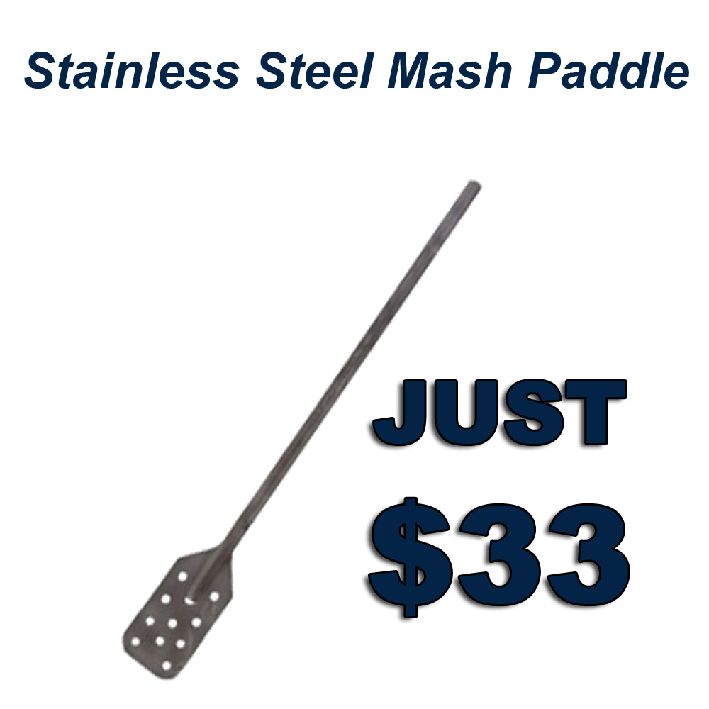 Home Brewer Promo Code for Get A Stainless Steel Mash Paddle for Just $33 Coupon Code
