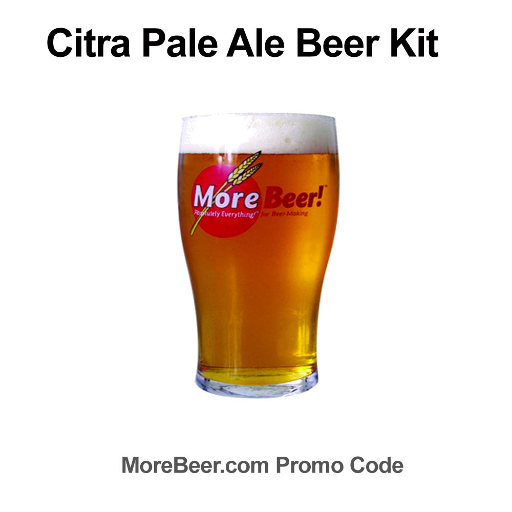 Homebrew Sale for Save $7 On A Citra Pale Ale Extract Homebrew Recipe Kit Sale