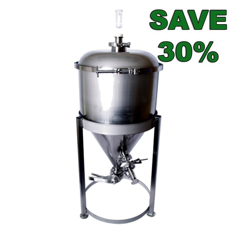 MoreBeer Homebrewing Conical Fermenter Sale - Save 30% Coupon Code