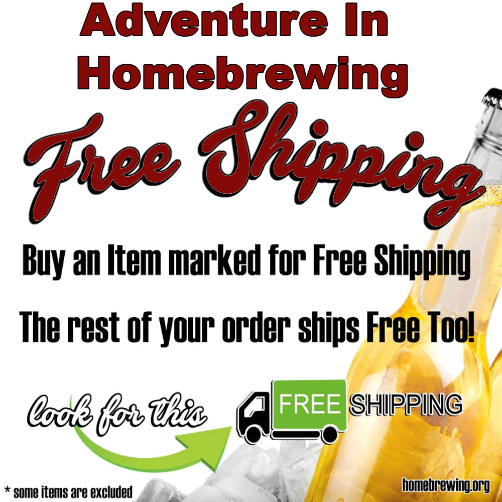 Homebrew Sale for Adventures In Homebrewing Free Shipping Promotion Sale