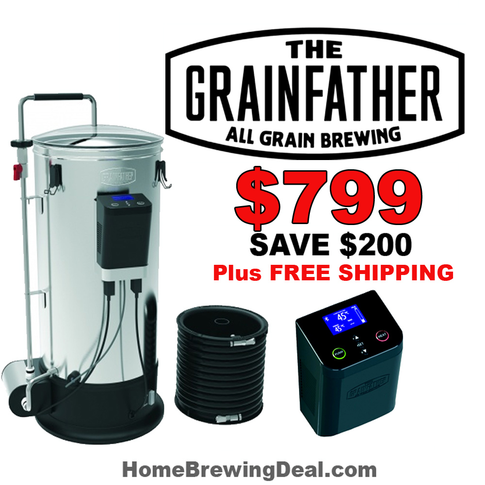 Homebrew Sale for GrainFather With Bluetooth Connect Controller Save $200 Sale