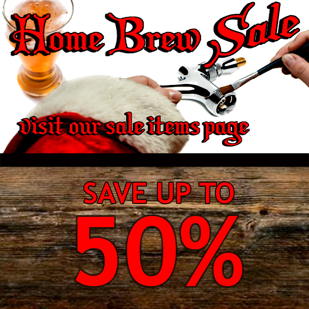 Homebrew Sale for Save Up To 50% On Popular Homebrewing Items Sale