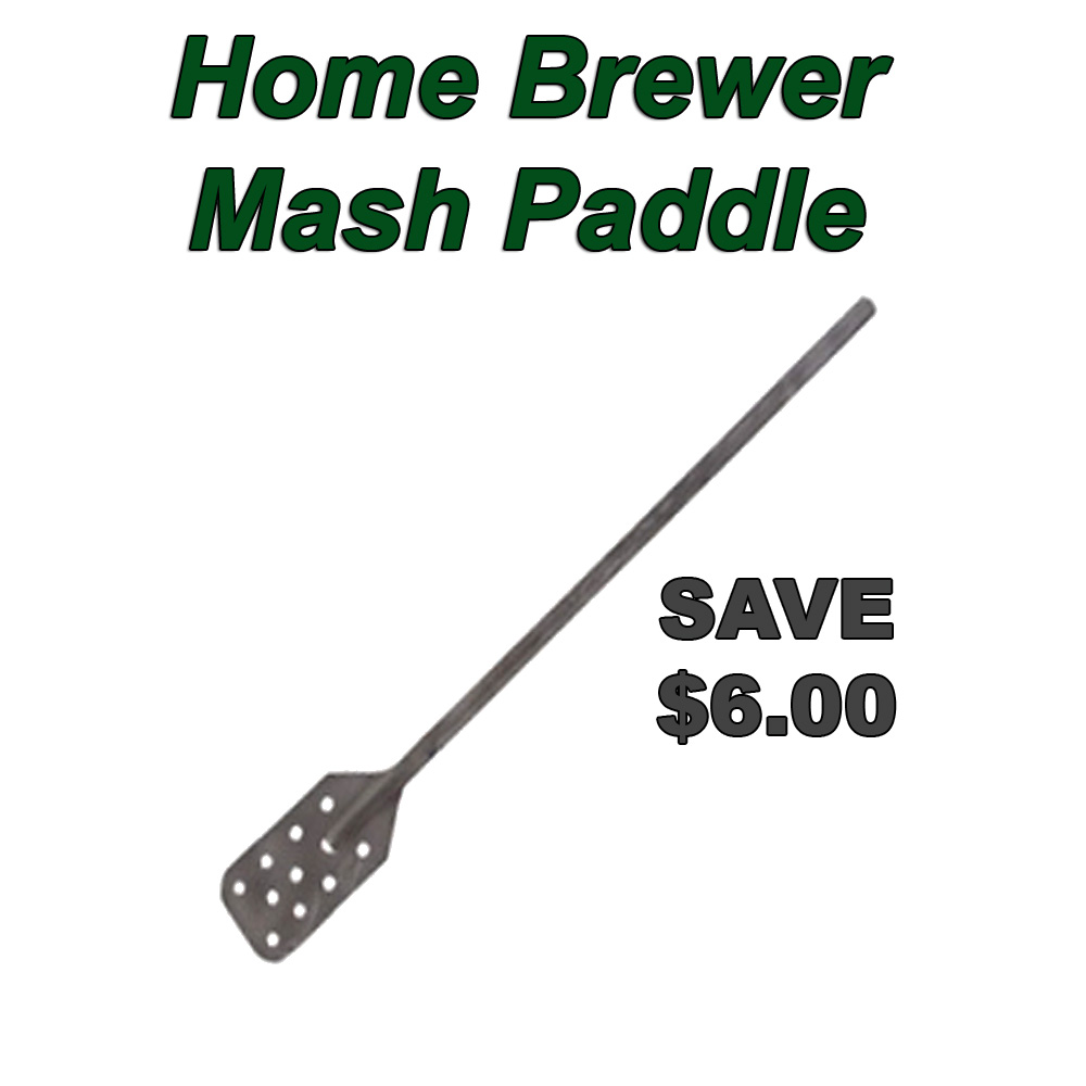Home Brewer Promo Code for Promo Code for $6 Off A Stainless Steel Homebrew Mash Paddle Coupon Code