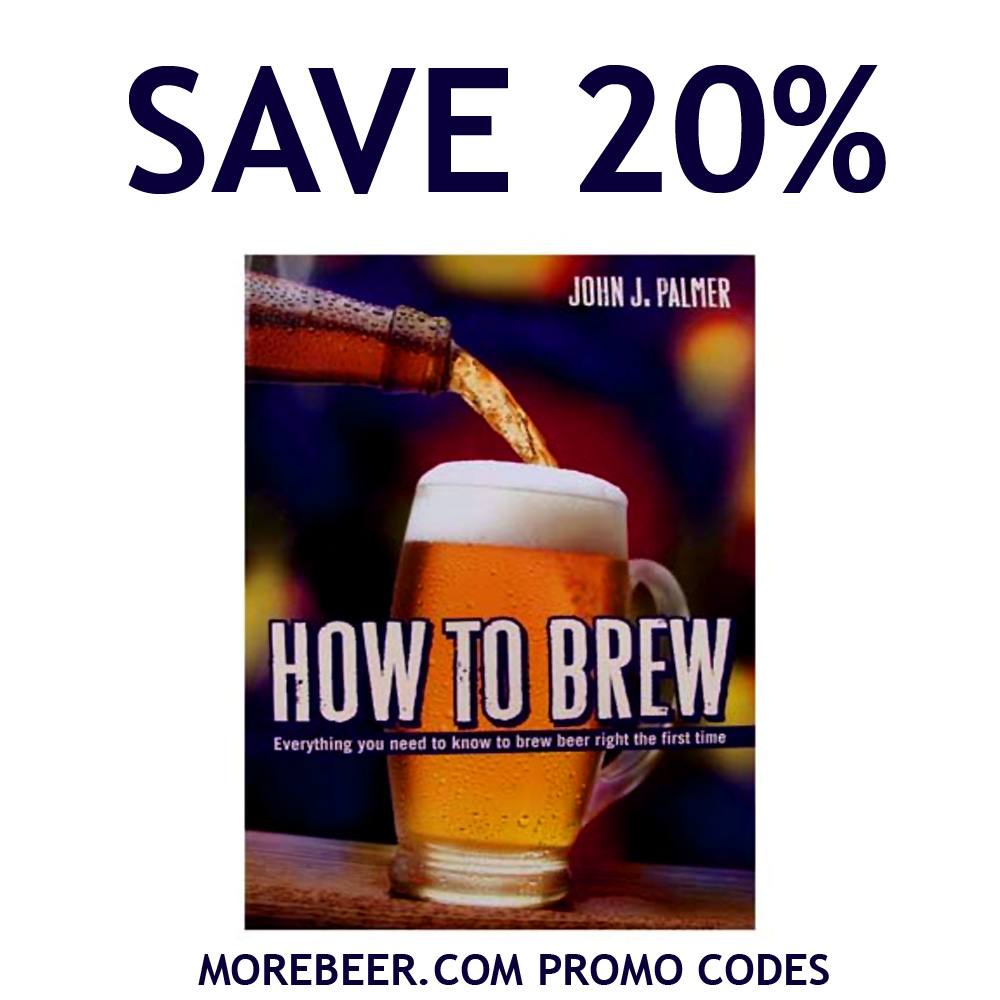 Home Brewer Promo Code for Save 20% On The Top Selling Home Brewing Book, HOW TO BREW Coupon Code