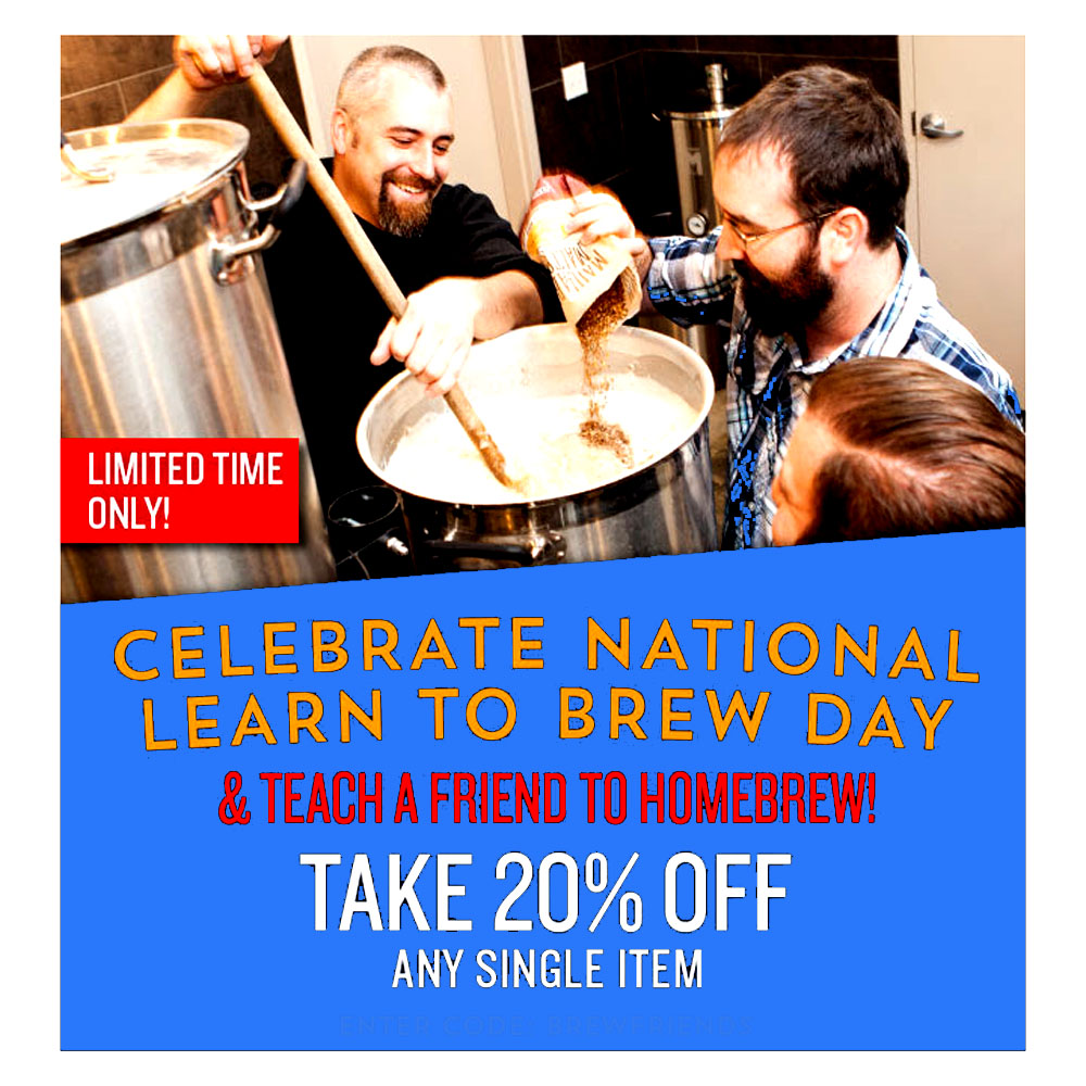 Northern Brewer Save 20% On A Single Homebrew Item Coupon Code