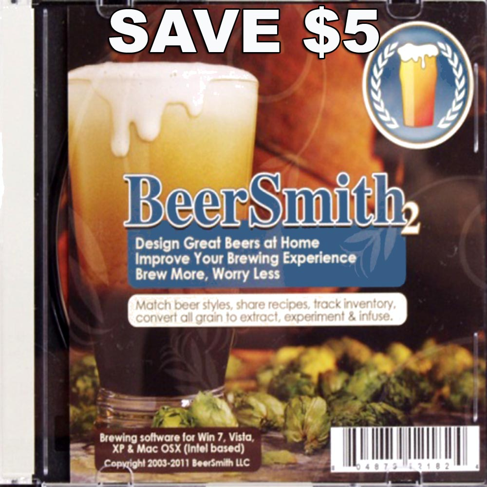 Homebrew Promo Code for Save $5 On Beer Smith 2 Homebrewing Software Promo Codes
