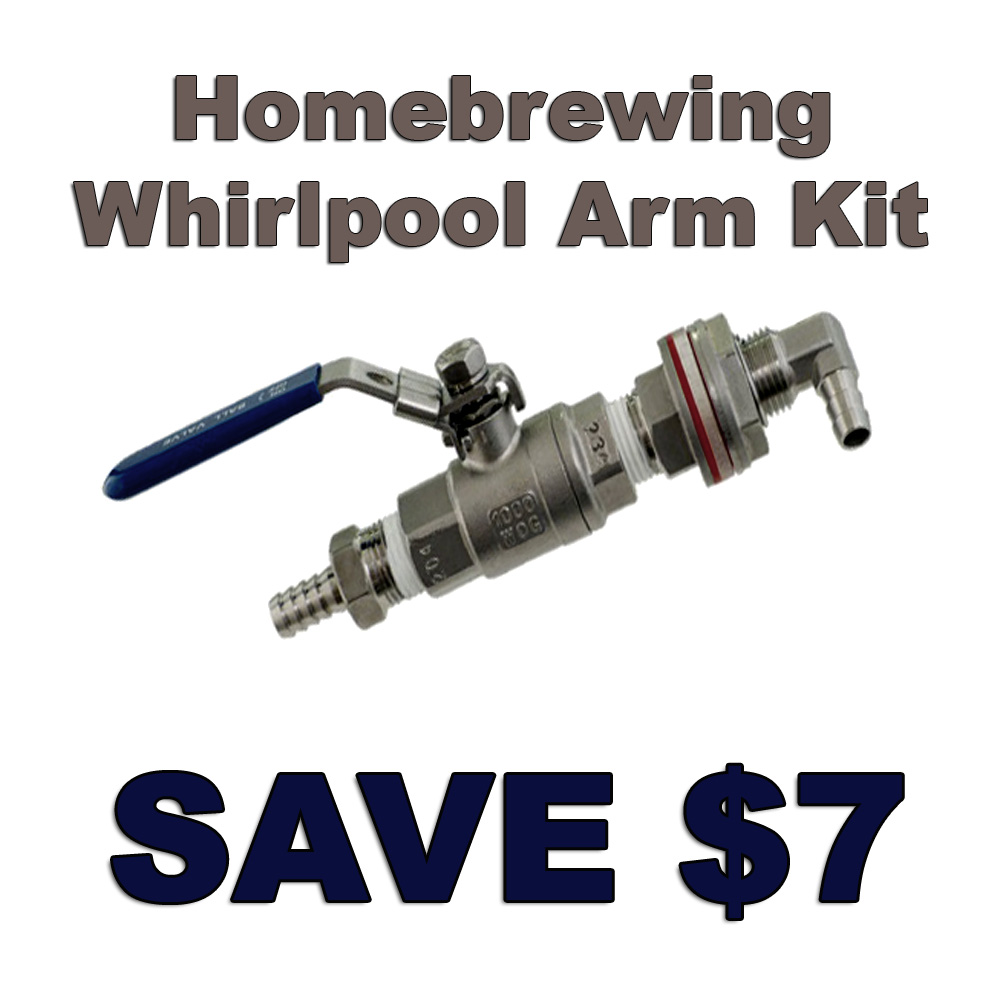 Home Brewer Promo Code for Stainless Steel Whirlpool Arm Kit Promo Code Coupon Code