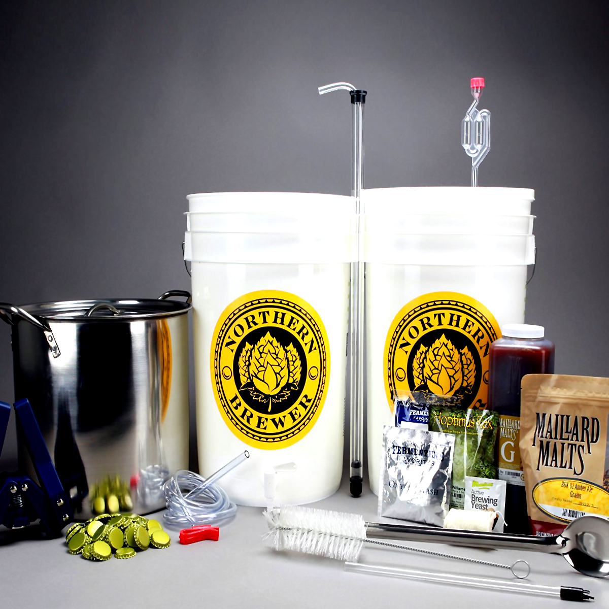Deluxe Homebrewing Starter Kit + Free Shipping Coupon Code