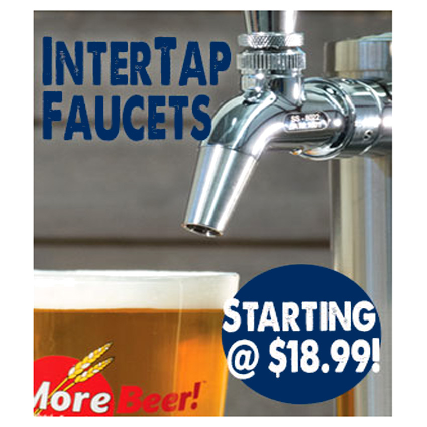 Home Brewer Promo Code for Intertap Beer Taps For Just $18 Coupon Code