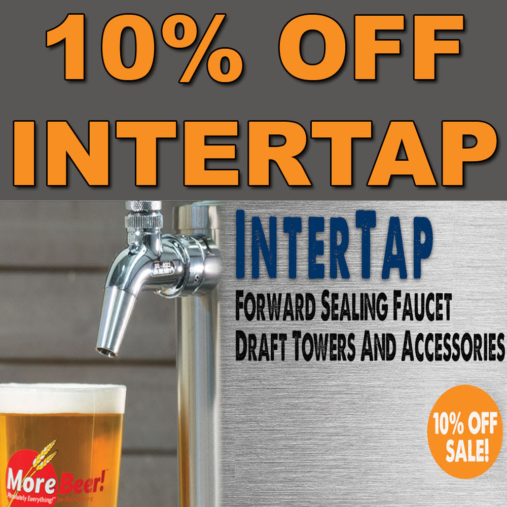 Home Brewer Promo Code for Save 10% On All InterTap Draft Beer Items Coupon Code