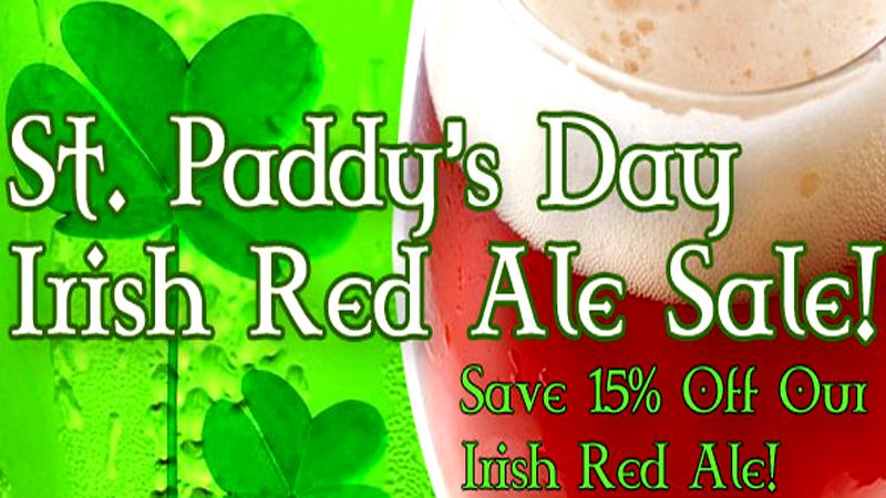 MoreBeer Save 15% on MoreBeer Irish Red Ale ingredient kits Coupon Code