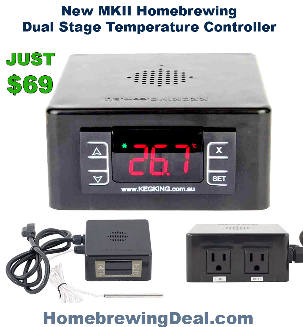 Homebrew Promo Code for Get Free Shipping on the MKII Temperature Controller Promo Codes