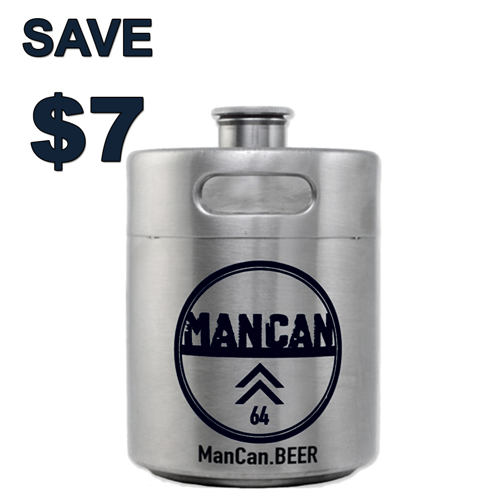 Home Brewer Promo Code for Save $7 On A Stainless Steel Growler with this More Beer Promo Code Coupon Code