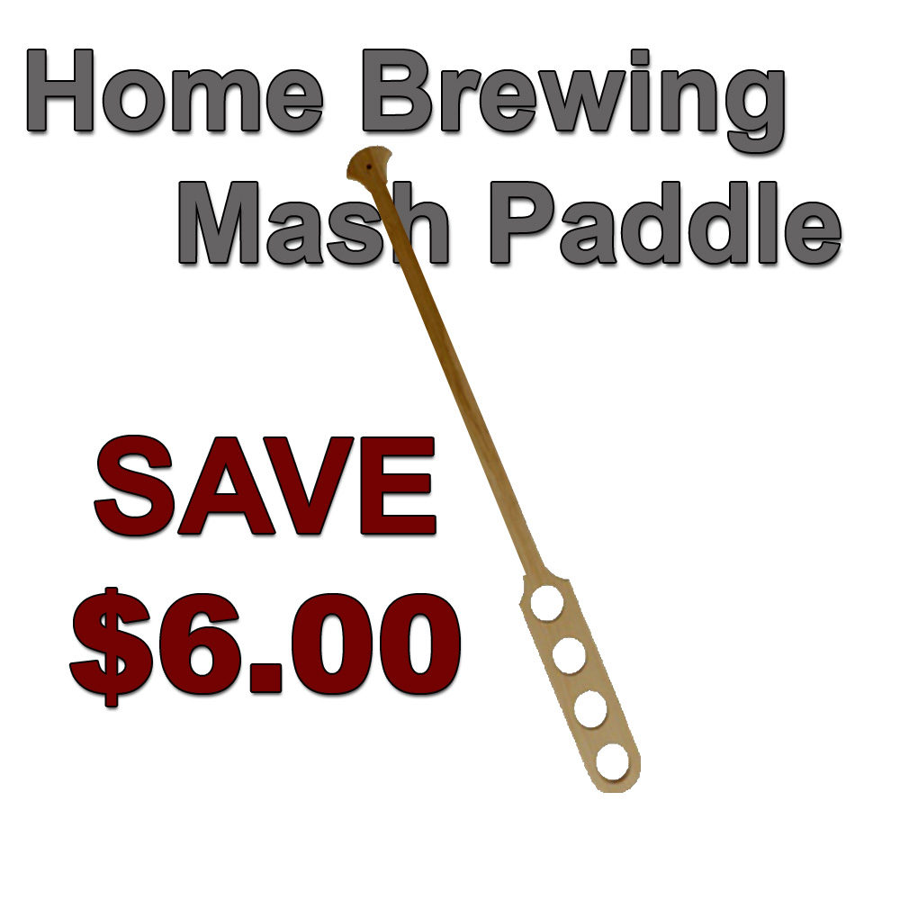 Home Brewer Promo Code for Save $6 On A New Mash Paddle Coupon Code