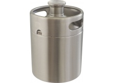 MoreBeer Mini Keg Style Stainless Steel Homebrew Growler Coupon Code
