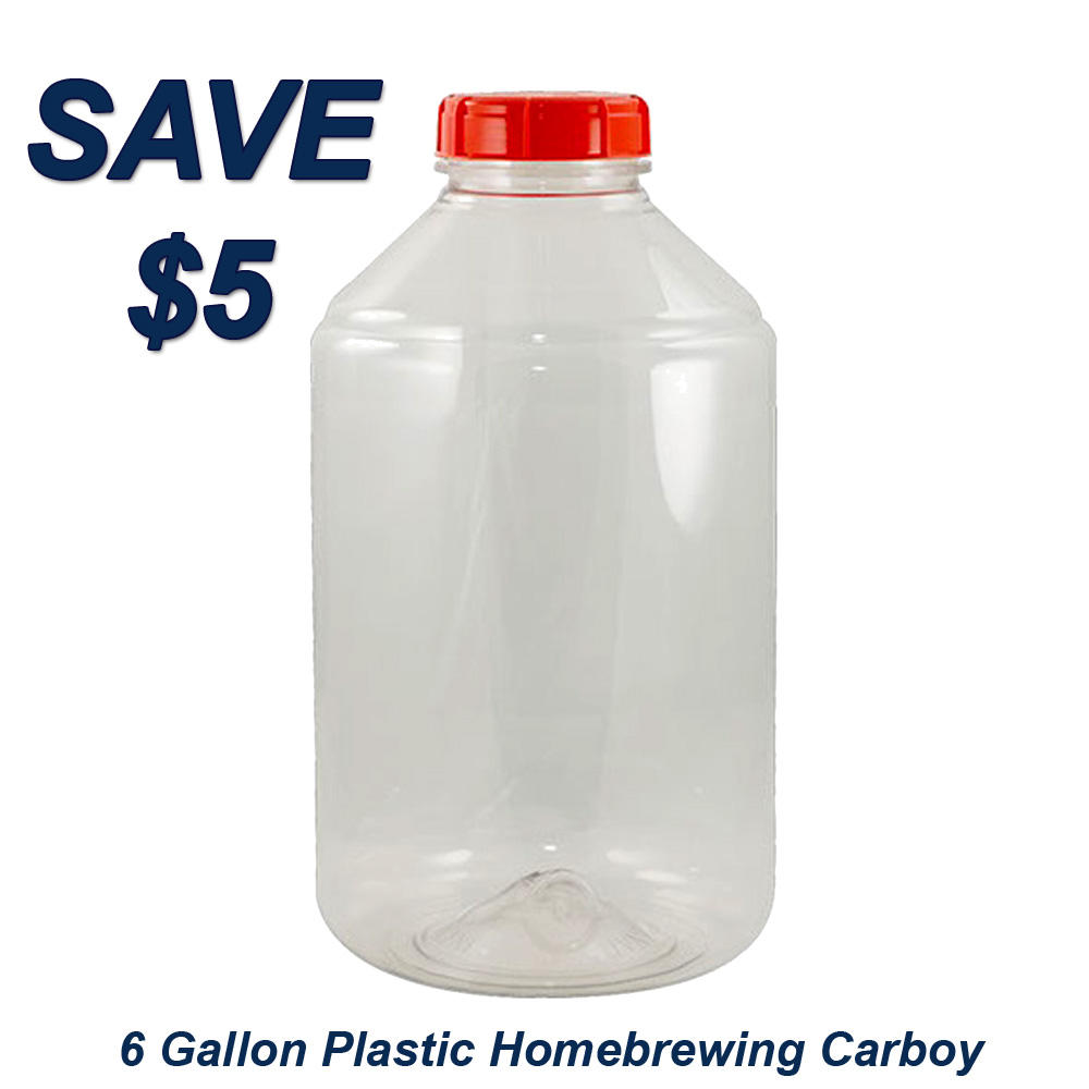 Homebrew Promo Code for Save $5 On A More Beer Fermonster 6 Gallon Plastic Carboy Promo Codes