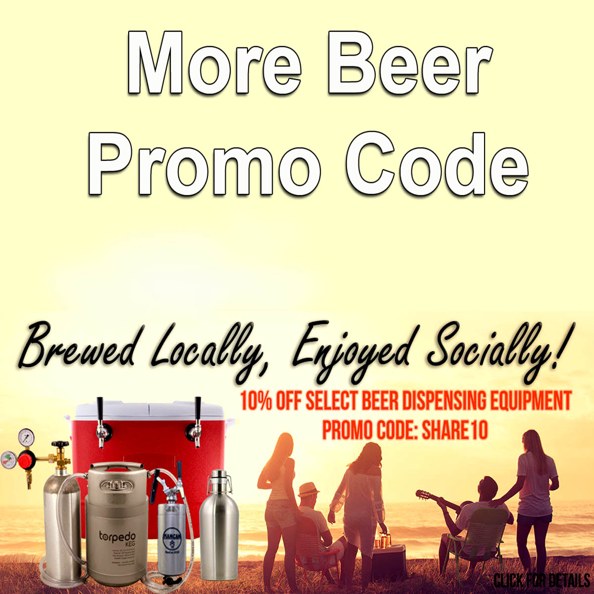 Home Brewer Promo Code for Save 10% On Over 50 Items at More Beer Coupon Code