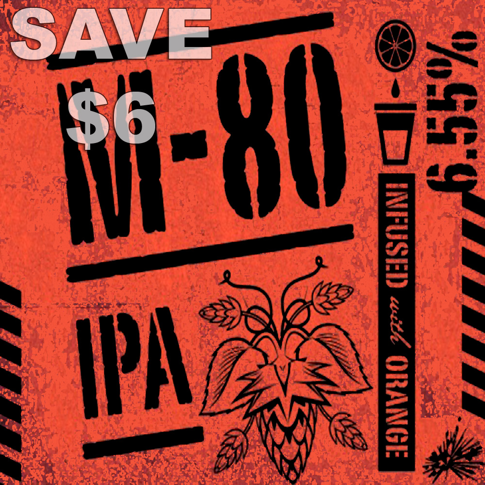 Homebrew Promo Code for M-80 IPA Home Brewing Recipe Kit - Save $6 With MoreBeer Promo Code Promo Codes