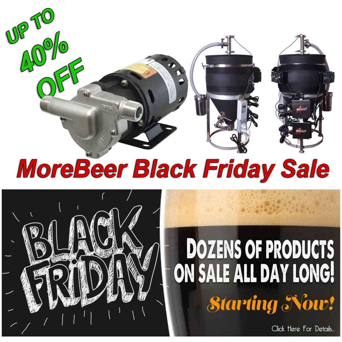 MoreBeer MoreBeer Black Friday Sale Going On Now Promo Codes