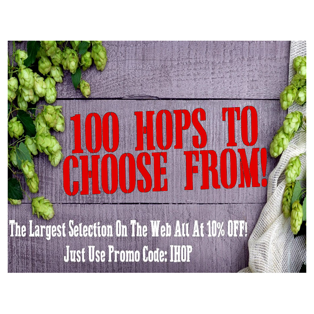 Homebrew Promo Code for Save 10% On Your Hops!  Today Only With This MoreBeer Coupon Coupon Code