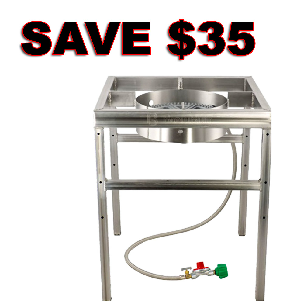 Home Brewer Promo Code for Save $35 On A Stainless Steel Home Brewing Burner and Stand Coupon Code