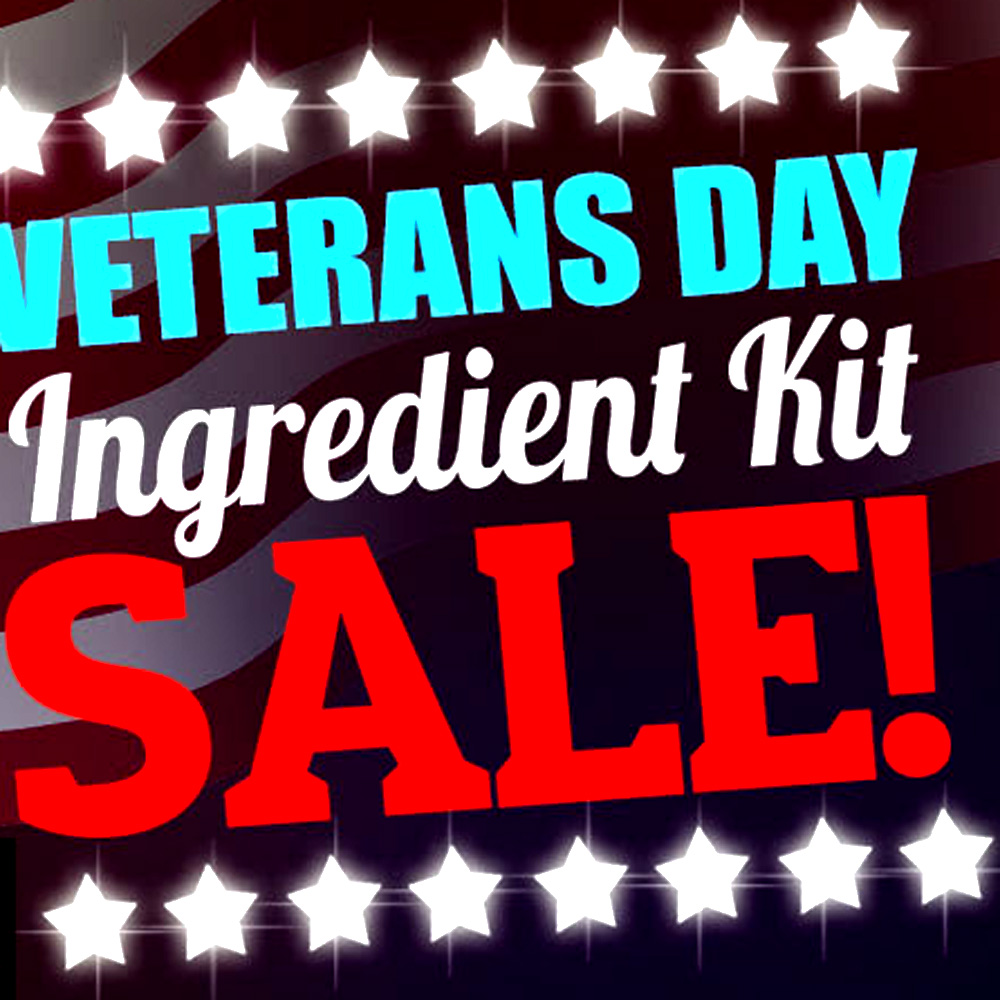 Home Brewer Promo Code for Veterans Day Sale - Save 11% On All Beer Kits at More Beer! Coupon Code
