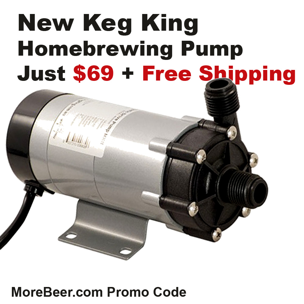 Home Brewer Promo Code for Just $69 For a Keg King Homebrewing Pump and FREE SHIPPING Coupon Code