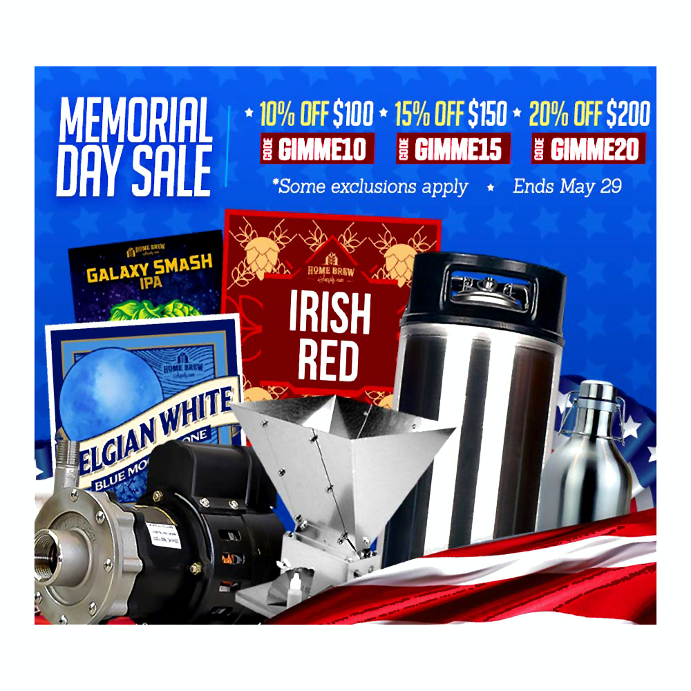 Homebrew Promo Code for Save 20% Site Wide at HomebrewSupply.com With Promo Code Promo Codes