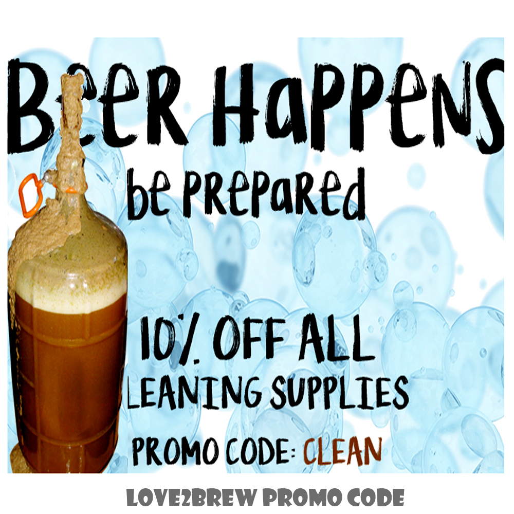 Home Brewer Promo Code for Save 10% On All Home Brewing Cleaning Supplies  Coupon Code