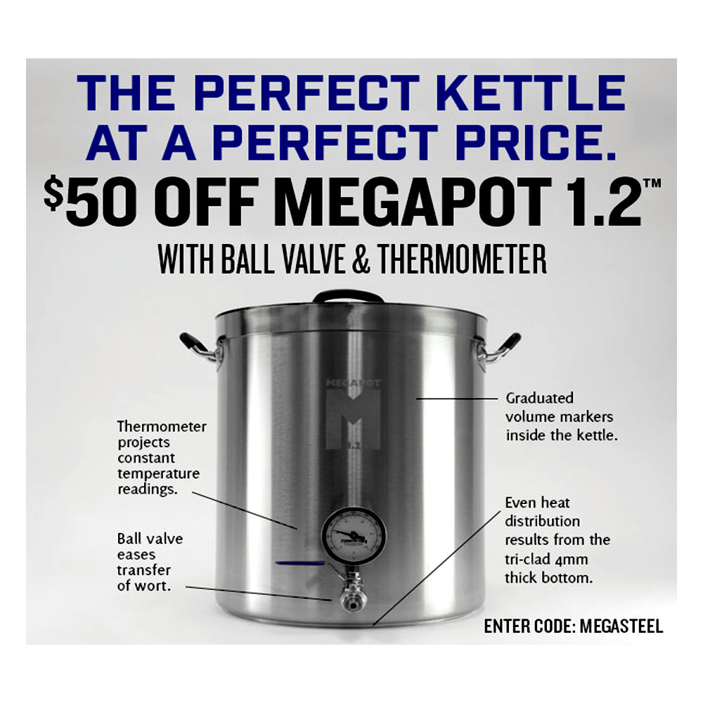 Home Brewer Promo Code for Take $50 Off Any Fully Loaded Megapot 1.2 Coupon Code