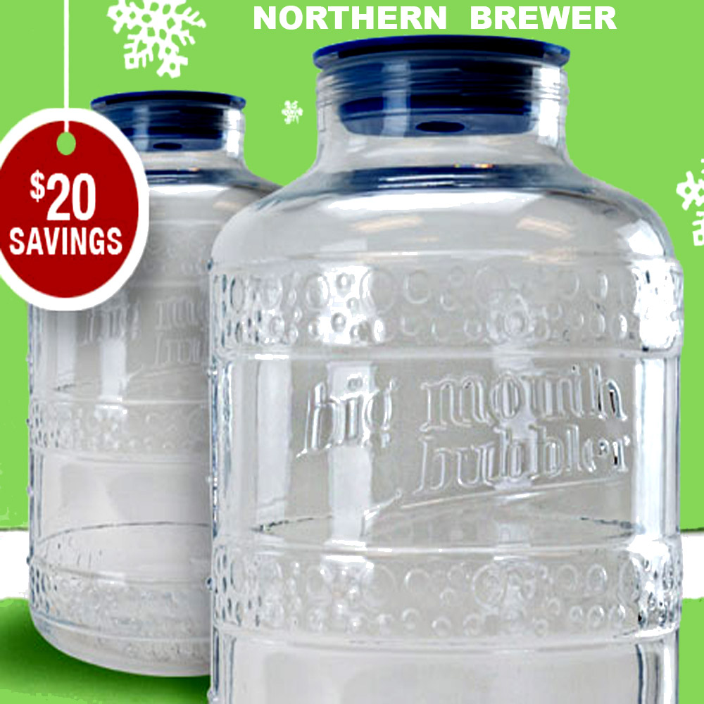 Northern Brewer Big Mouth Fermenters for $40 at Northern Brewer Promo Codes