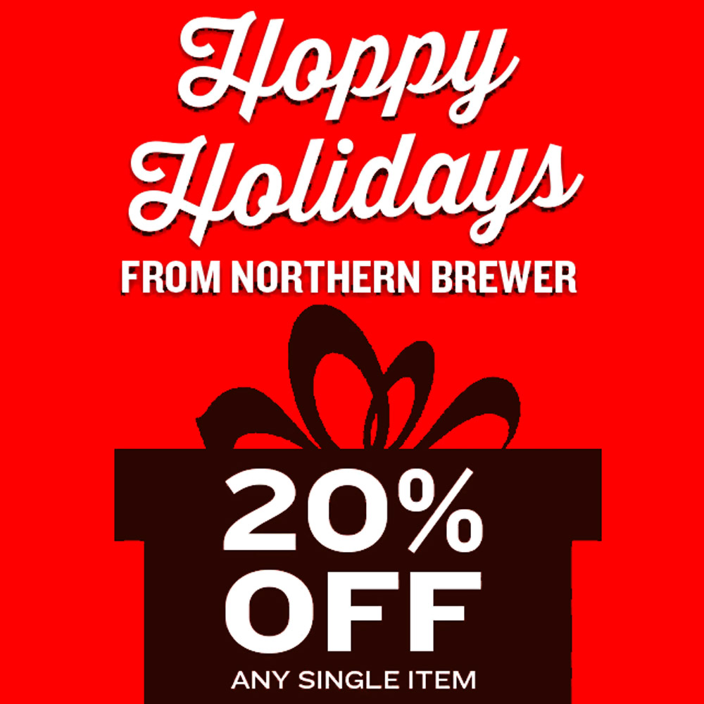 Home Brewer Promo Code for Save 20% On A Single Homebrewing Item Coupon Code