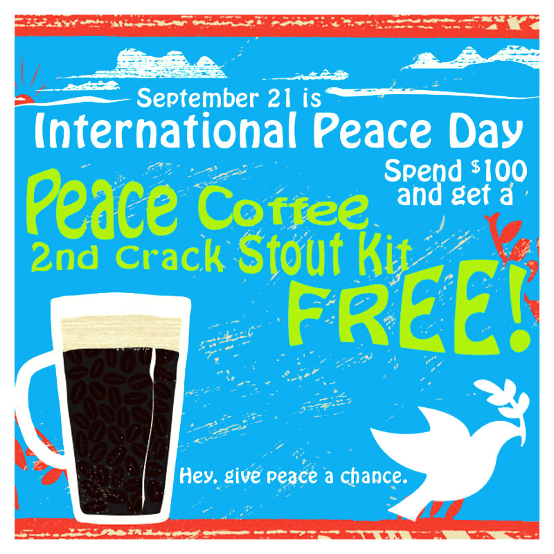 Home Brewer Promo Code for Spend $100 and Get a Coffee Stout Kit Coupon Code