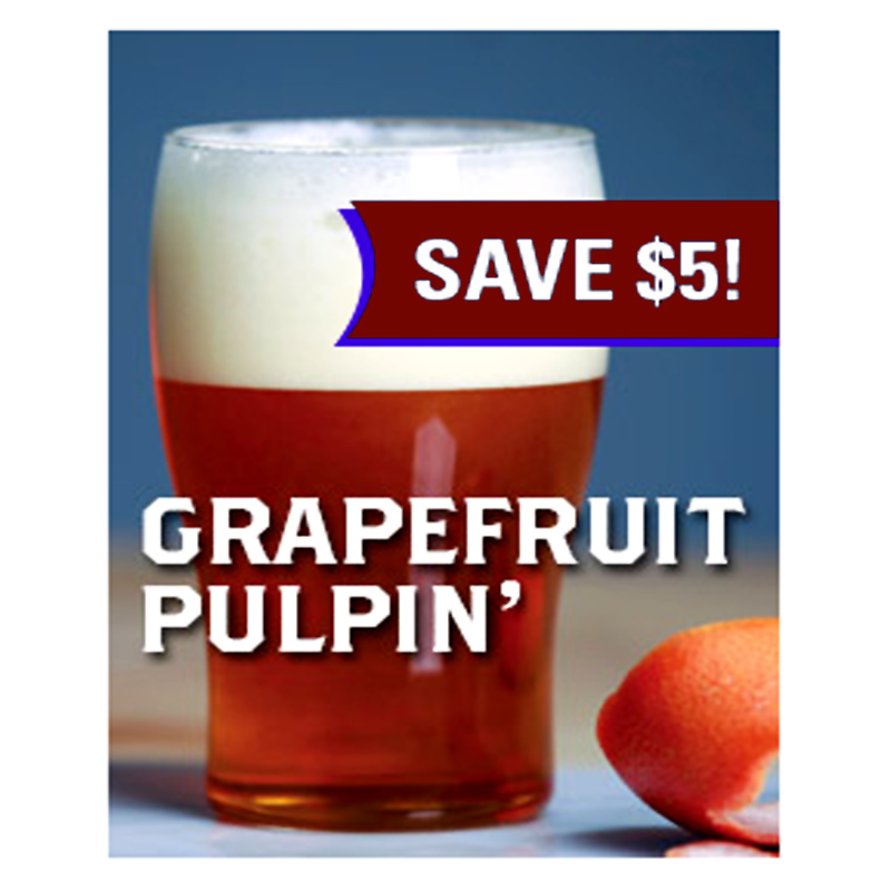 Home Brewer Promo Code for Save $5 On a Grapefruit Sculpin Clone Extract Beer Kit Coupon Code