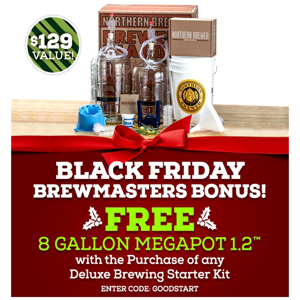 Homebrew Promo Code for NorthernBrewer.com Black Friday Sale Promo Codes