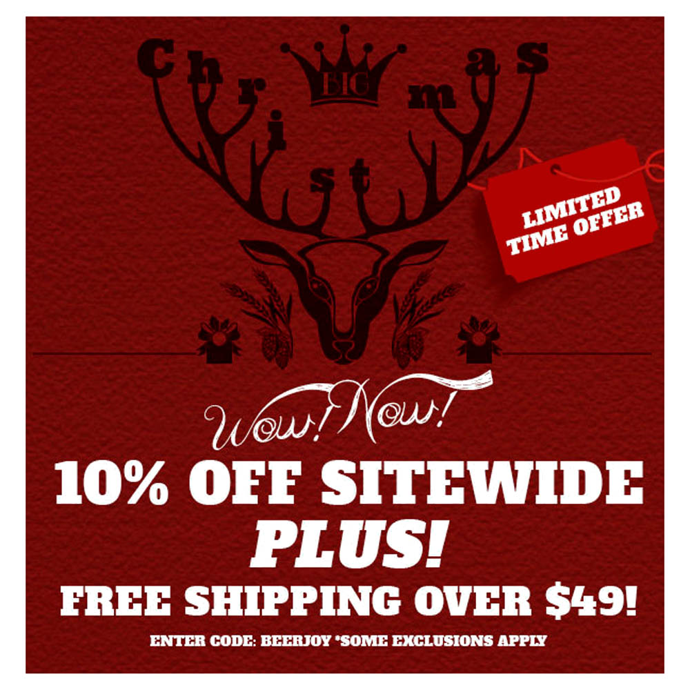 Home Brewer Promo Code for 10% OFF Any Order and Orders Over $49 Ship FREE Northern Brewer Promo Code Coupon Code