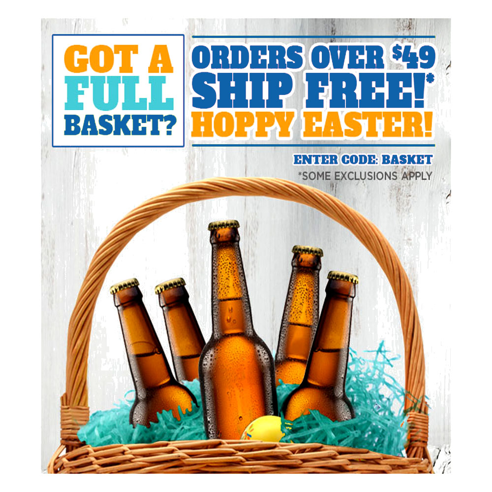 Home Brewer Promo Code for FREE SHIPPING ON ORDERS OVER $49 NorthernBrewer.com Promo Code Coupon Code