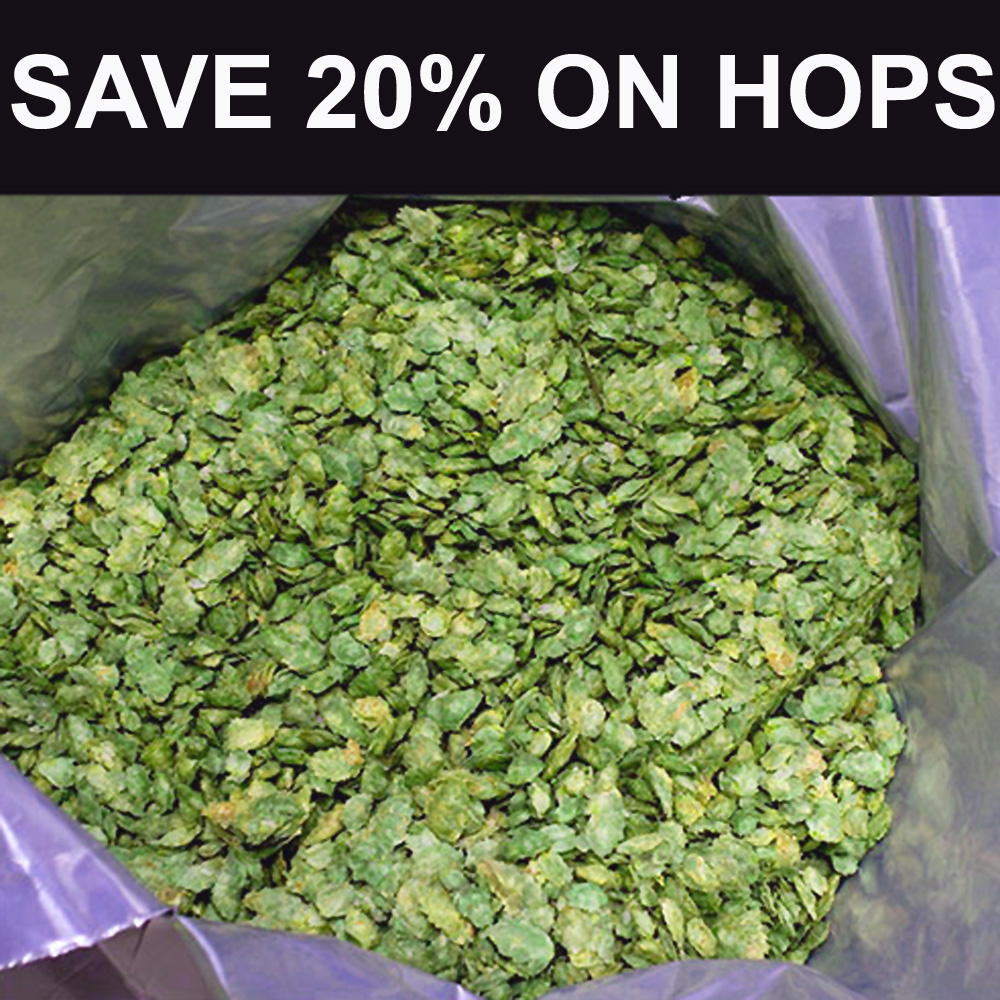 Home Brewer Promo Code for Buy 8 Packs Of Hops and Save 20% Coupon Code