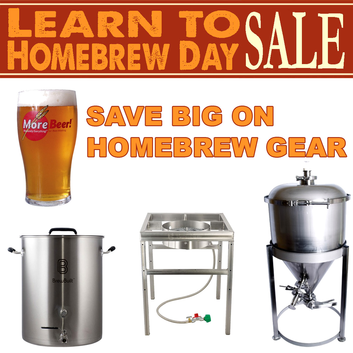 MoreBeer Save Up To 25% On Popular Home Brewing Items Coupon Code