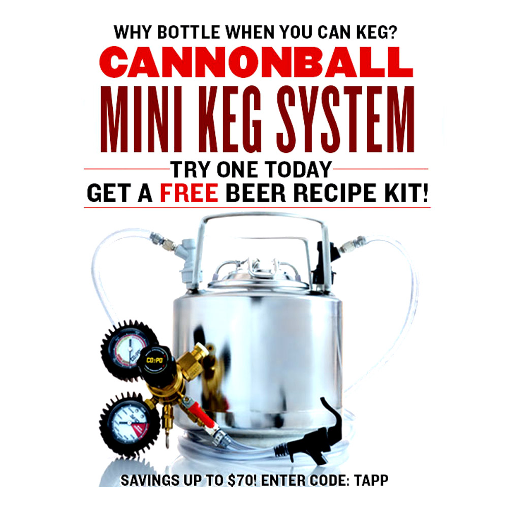 Home Brewer Promo Code for Get a Free Beer Kit With the Purchase of A Draft Beer System Coupon Code