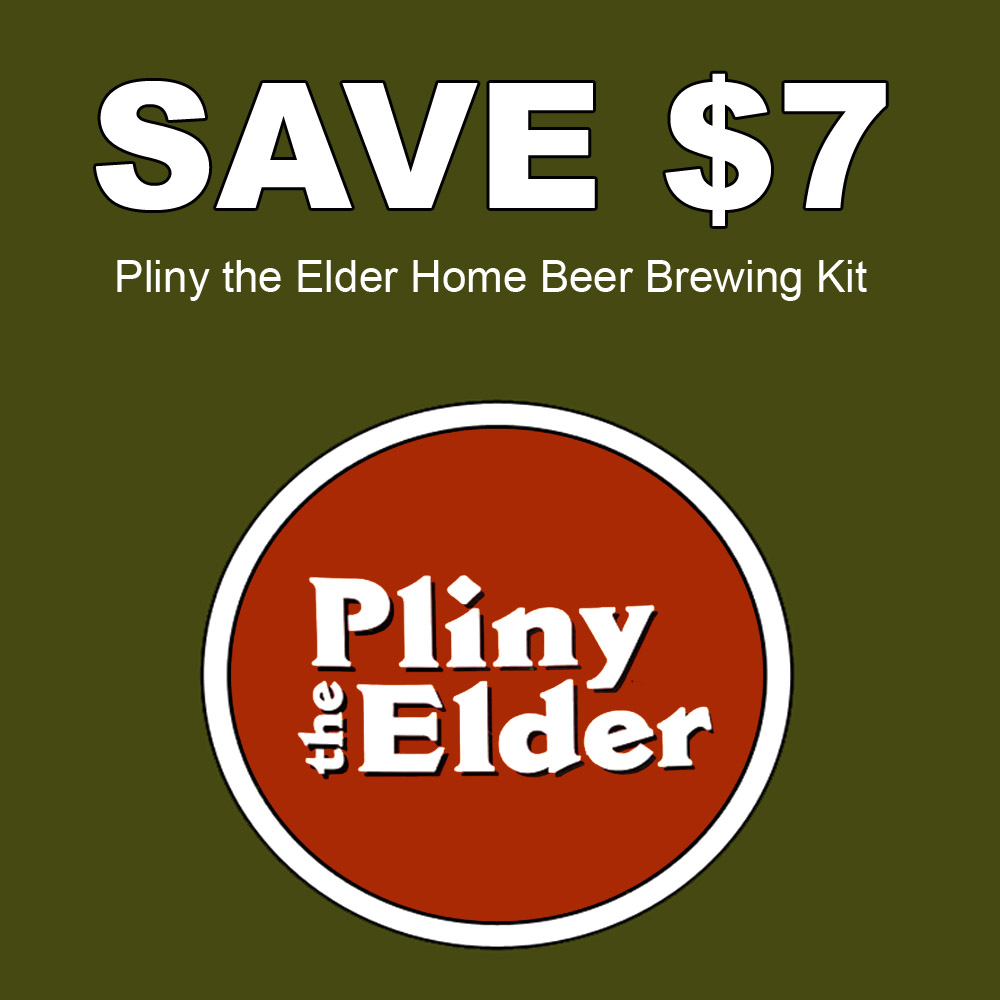 Home Brewer Promo Code for Save $7 On A Pliny the Elder Home Brewing Beer Recipe Kit Coupon Code