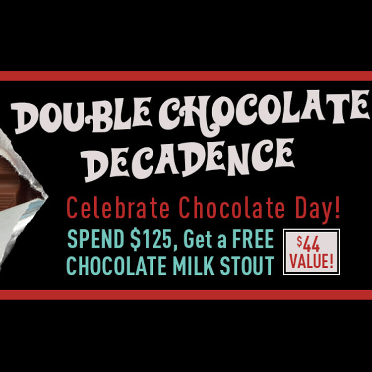 Homebrew Promo Code for Free Chocolate Milk Stout With Orders Over $125 Coupon Code