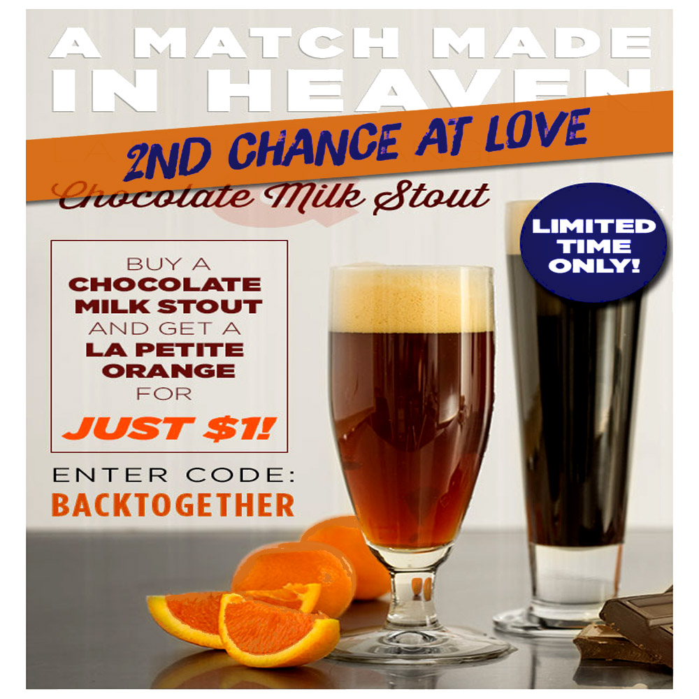Home Brewer Promo Code for Get a $1 La Petite Orange Extract Beer Kit with Purchase of a Milk Stout Recipe Kit Coupon Code