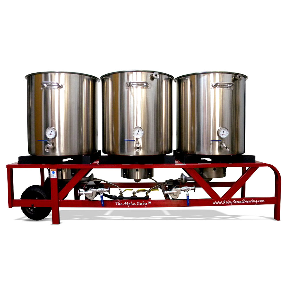 Adventures In Homebrewing Ruby Street Brew Rigs On Sale Sale