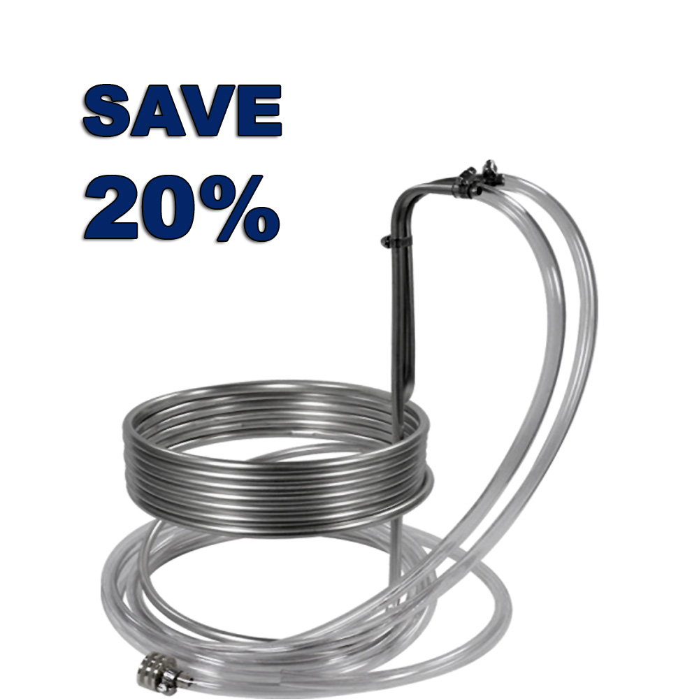 Homebrew Promo Code for Save 20% On A Stainless Steel Wort Chiller Promo Codes