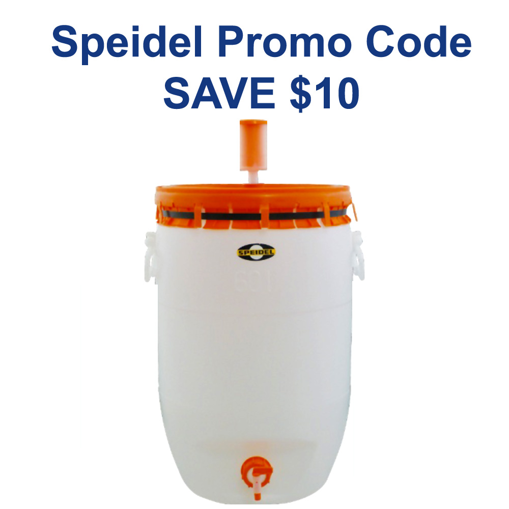 Home Brewer Promo Code for Save $10 on a Speidel Fermenter Coupon Code