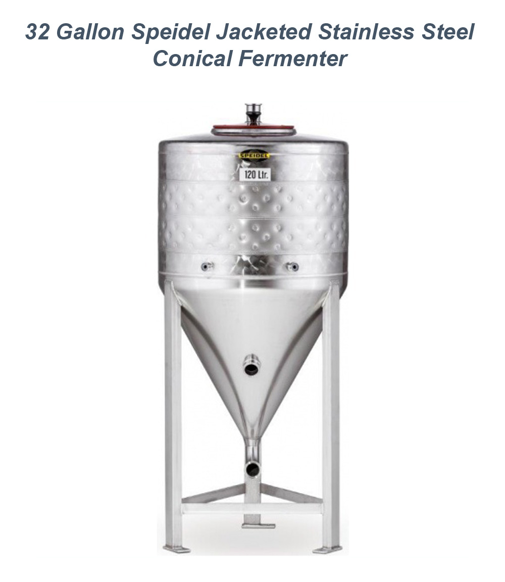 Homebrew Promo Code for Save $250 On A Speidel 32 Gallon Jacketed Stainless Steel Conical Fermenter Promo Codes