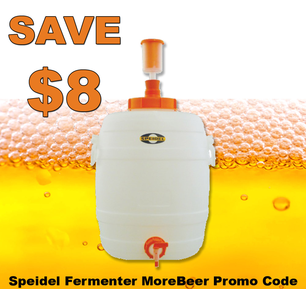 Home Brewer Promo Code for Take $8 Off A Speidel Fermenter Today Only Coupon Code